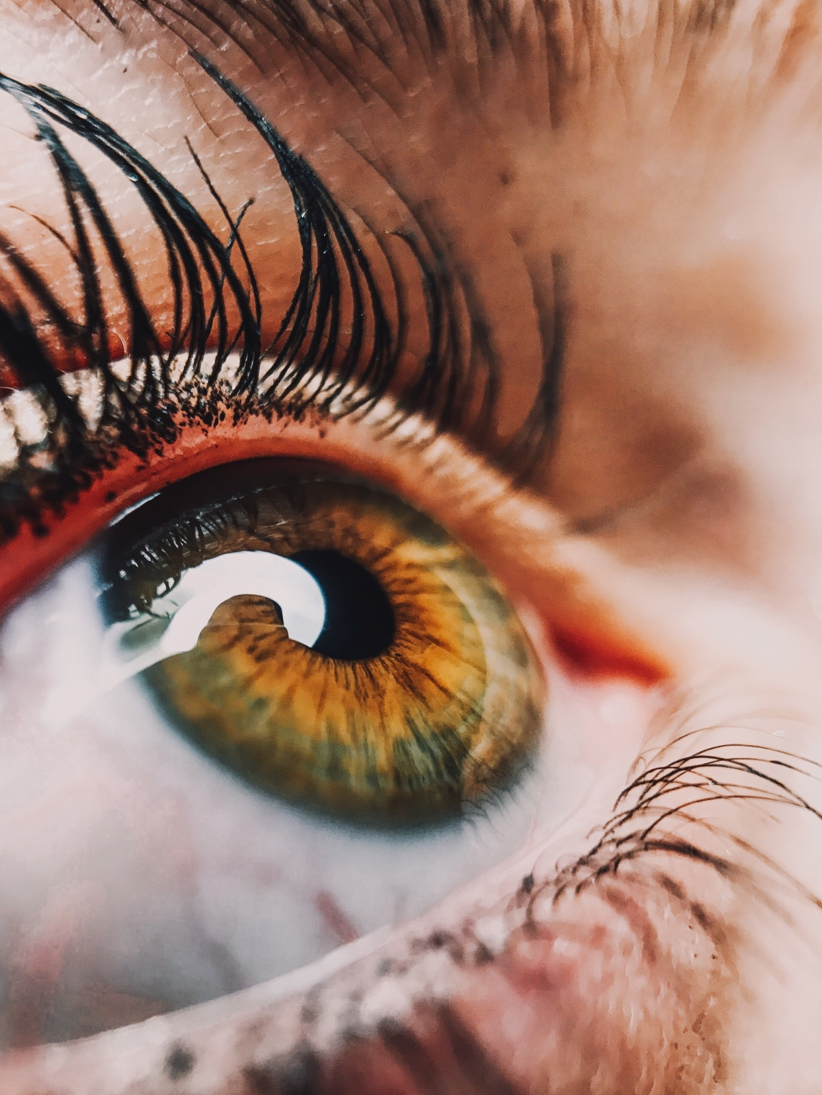 Eye more the spiritual andeternal